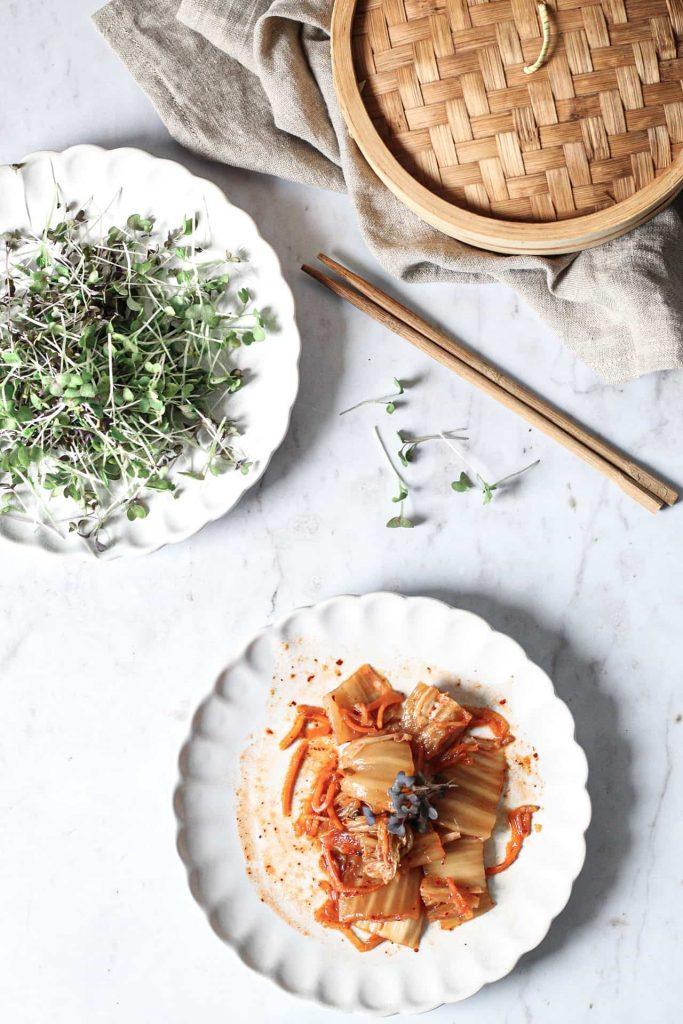 Korean thai salad